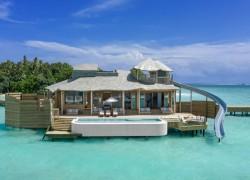 'World's largest' overwater villas open in Maldives