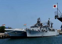India, Japan to kick off naval drills in Arabian Sea