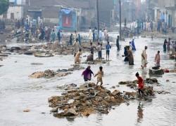 পাকিস্তানের সবচেয়ে আতঙ্কের প্রতিকূলতা হলো জলবায়ুর বিপর্যয়