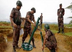 Bangladesh deploys troops on Myanmar's border