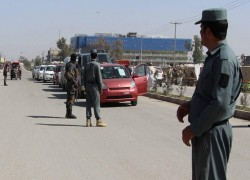 AFGHAN POLICE SEIZE FOUR TONNES OF BOMB-MAKING CHEMICAL