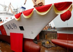 China launches largest maritime patrol ship amid rising regional tensions
