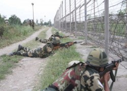 THREE INDIAN SOLDIERS KILLED, FIVE INJURED