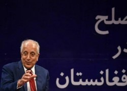KHALILZAD RENEWS CALL ON AFGHANS TO AGREE ON POLITICAL SETTLEMENT