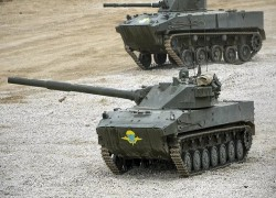 India may soon acquire Russia's high altitude Sprut light tanks to counter China