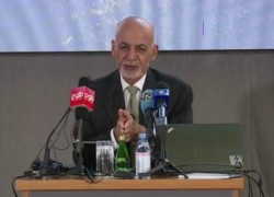 AFGHAN PEOPLE MUST COME FIRST IN PEACE: GHANI