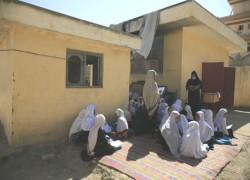 3.7 million Afghan children don't attend school