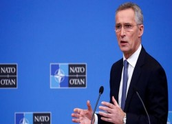 NATO CHIEF SAYS ALLIES WILL LEAVE AFGHANISTAN TOGETHER