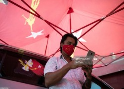 As Covid-19 infections climb, Myanmar's election machinery forges on