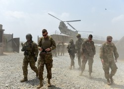 US forces hit Taliban with airstrikes as violence surges in Afghanistan despite peace talks