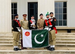 THRICE IN A ROW: PAK ARMY WINS INT'L MILITARY DRILL COMPETITION IN UK