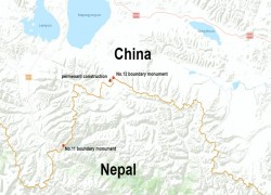 Buildings 'occupying Nepalese land' fall within Chinese territory: Survey shows