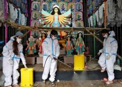 INDIA'S CORONAVIRUS INFECTIONS RISE TO 7.43 MILLION