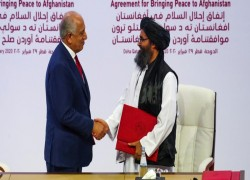 TALIBAN BLAMES US FORCES FOR VIOLATING DOHA AGREEMENT