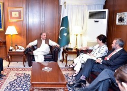 PAKISTAN KEEN TO SEE AFGHAN PEACE PROCESS MOVE FORWARD: FM