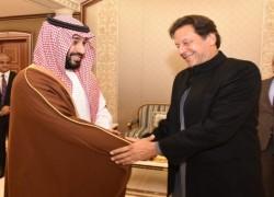 IMRAN PAID FIVE VISITS TO SAUDI ARABIA IN TWO YEARS
