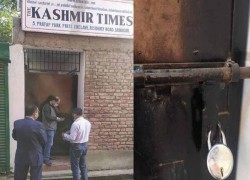 Indian authorities in Kashmir seal office of leading English daily