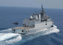 INDIA AND SRI LANKA STAGE NAVY EXERCISE OFF TRINCOMALEE
