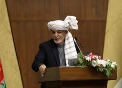 GHANI: NO JUSTIFICATION FOR TALIBAN'S WAR AGAINST AFGHANS