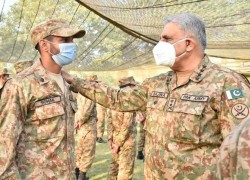 COAS URGES TROOPS TO EXTEND 'ALL-OUT SUPPORT' TO INDIAN CFV AFFECTEES