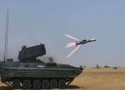 India test-fires anti-tank missile Nag in Pokhran, enters production phase
