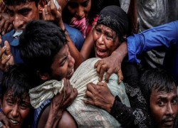 DONORS PLEDGE $597M IN HUMANITARIAN AID FOR ROHINGYAS