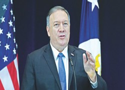 UN SECURITY COUNCIL MEMBERS HAVE SPECIAL OBLIGATION TO RESOLVING ROHINGYA CRISIS: MIKE POMPEO