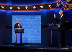 Donald Trump Biden and Trump diverge sharply on major issues in final presidential debate