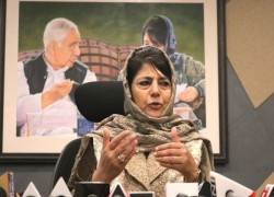BJP IN J-K DEMANDS ACTION AGAINST PDP CHIEF MEHOOBA MUFTI FOR MAKING 'SEDITIOUS REMARKS'