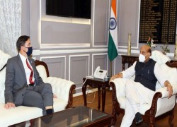 INDIA & US AGREE ON DEEPER COOPERATION IN INDO-PACIFIC AS RAJNATH MEETS MARK ESPER