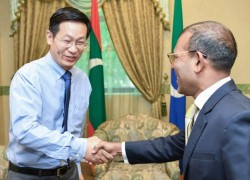 China will not seize assets, says Maldives Speaker Nasheed
