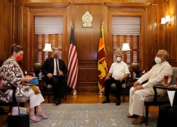 Lankan Prez tells Pompeo China did not put Lanka in debt trap