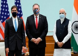 India tries to shake off pro-Trump image in run-up to US election