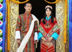 Bhutanese Royal Family are celebrating a surprise wedding