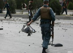 TWO PEOPLE WOUNDED IN KABUL BLAST
