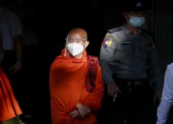 Myanmar's fugitive 'Buddhist Bin Laden' monk gives himself up, a week before election