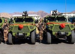 New-generation assault vehicles enter service with PLA border defense troops