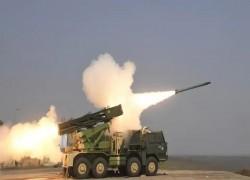 India test-fires long range Pinaka rocket system