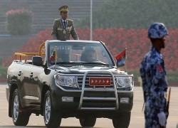 Myanmar military chief's warnings raise specter of post-election chaos