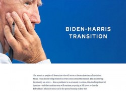 BIDEN CAMP LAUNCHES PRESIDENTIAL TRANSITION WEBSITE