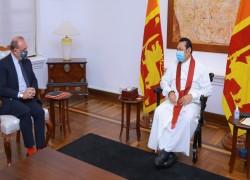 FRANCE WANTS TO BE INVOLVED IN DEVELOPMENT OF HAMBANTOTA PORT