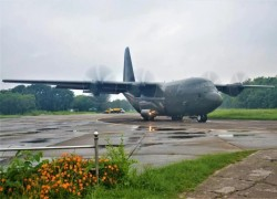 Bangladeshi C-130 military transport aircraft makes emergency landing in Russia