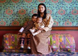 King & Queen of Bhutan share rare photos of their new royal baby