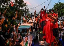 Myanmar's Suu Kyi forecast to triumph in coronavirus-hit 'apartheid' election