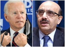 AJK PRESIDENT URGES BIDEN TO PLAY ROLE IN RESOLVING KASHMIR CONFLICT