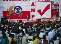 Local ethnic party beats ruling NLD in Rakhine state in general election