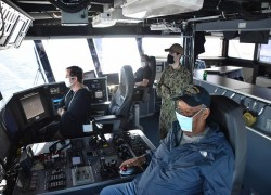 Bangladesh, US navies conduct a naval exercise in the Bay of Bengal