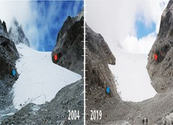 Glaciers in Bhutan retreating at an alarming rate