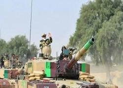 PM Modi took a ride on a tank during Diwali visit to Rajasthan's Jaisalmer