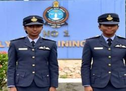 প্রথম নারী পাইলট পেলো শ্রীলঙ্কা বিমান বাহিনী